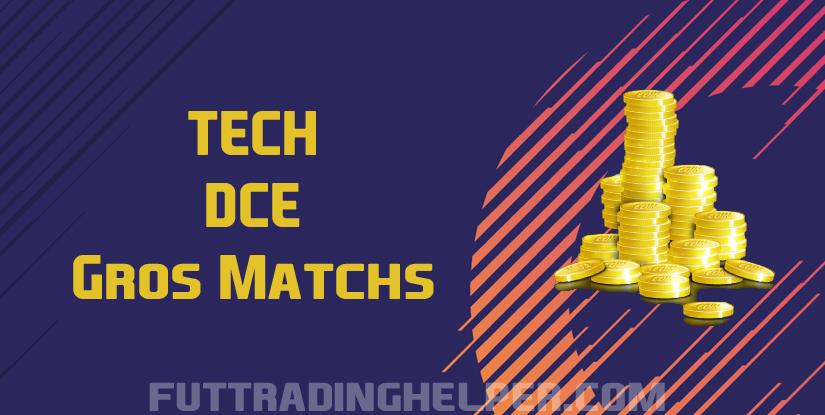 Tech DCE Gros Matchs