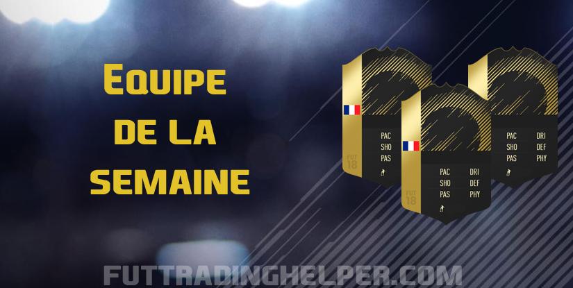 TOTW 32 sur FIFA 19