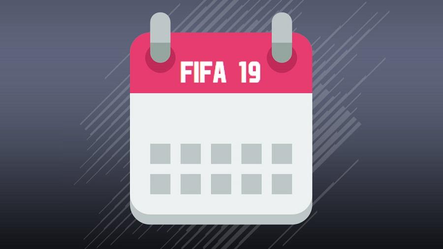 Le programme d'avril sur FUT 19