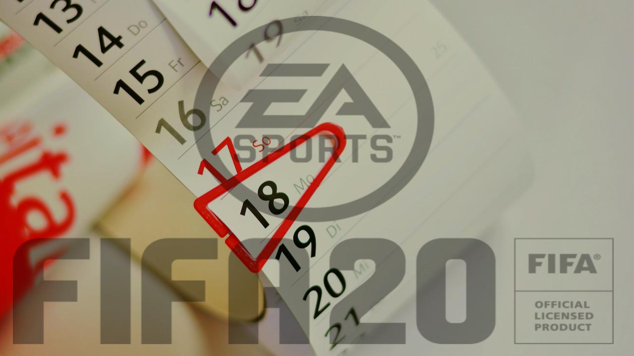 Le programme de décembre sur FIFA 20