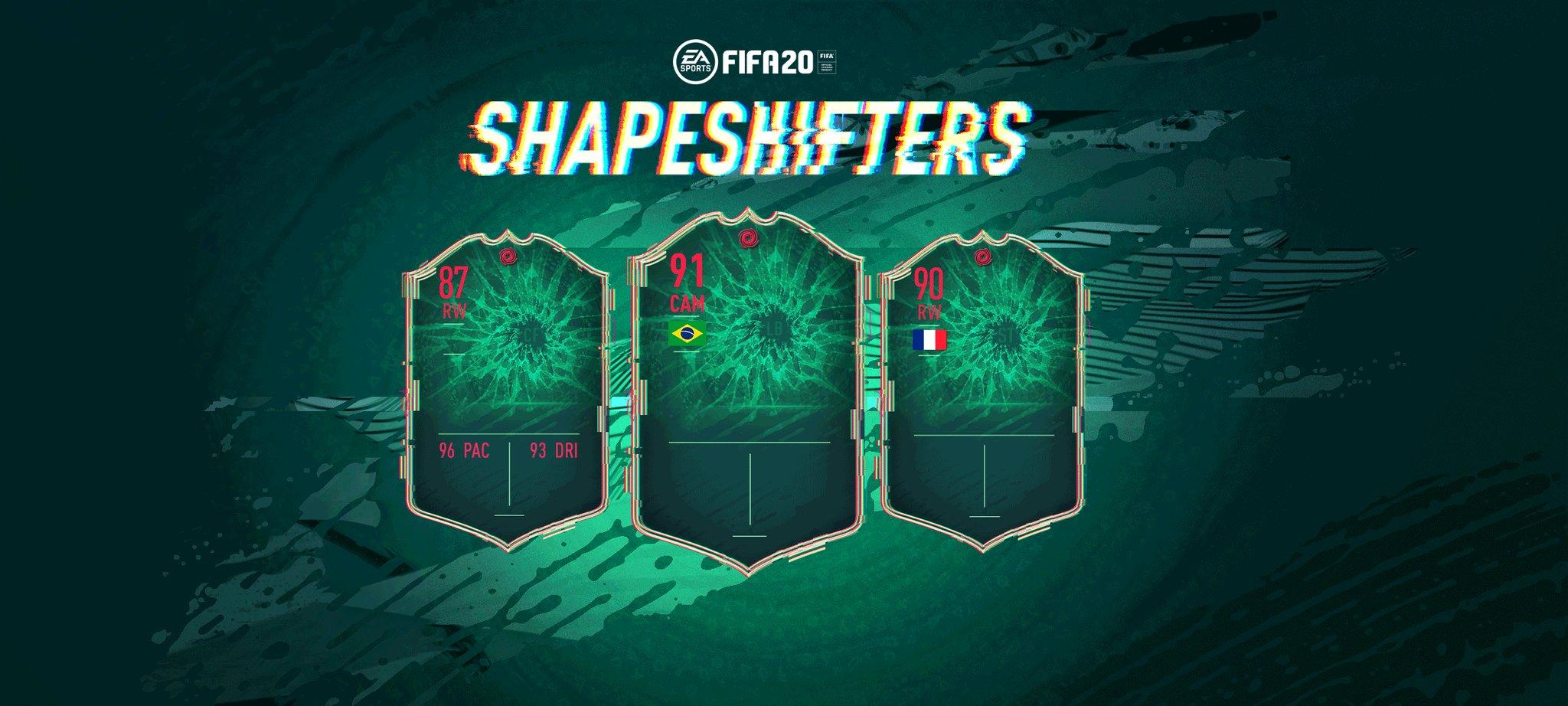 Shapeshifters sur FIFA 20 : le guide
