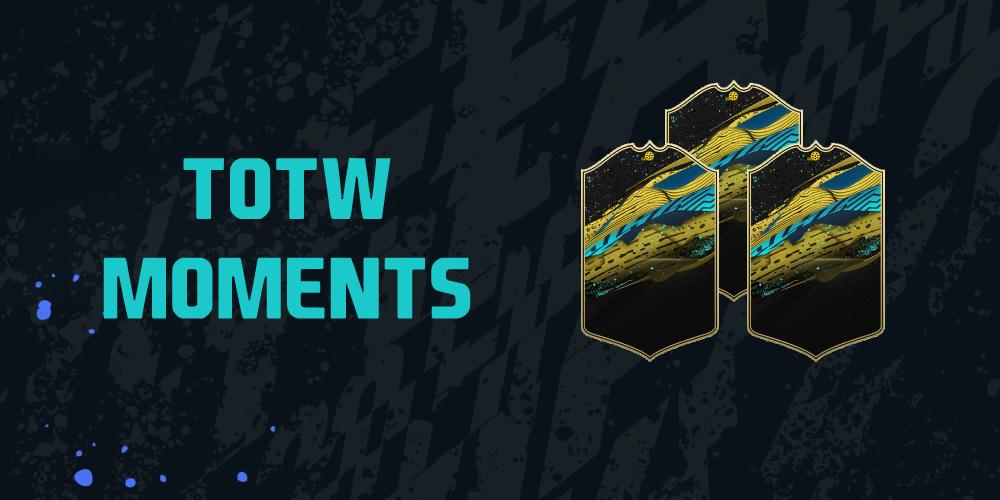 La TOTW Moments 6 sur FIFA 20