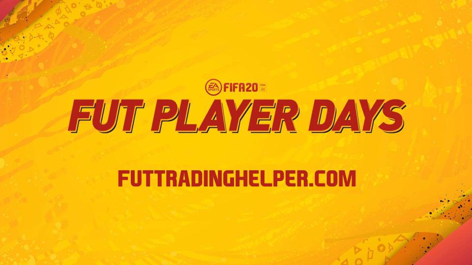 FUT Player Days sur FIFA 20 : le guide
