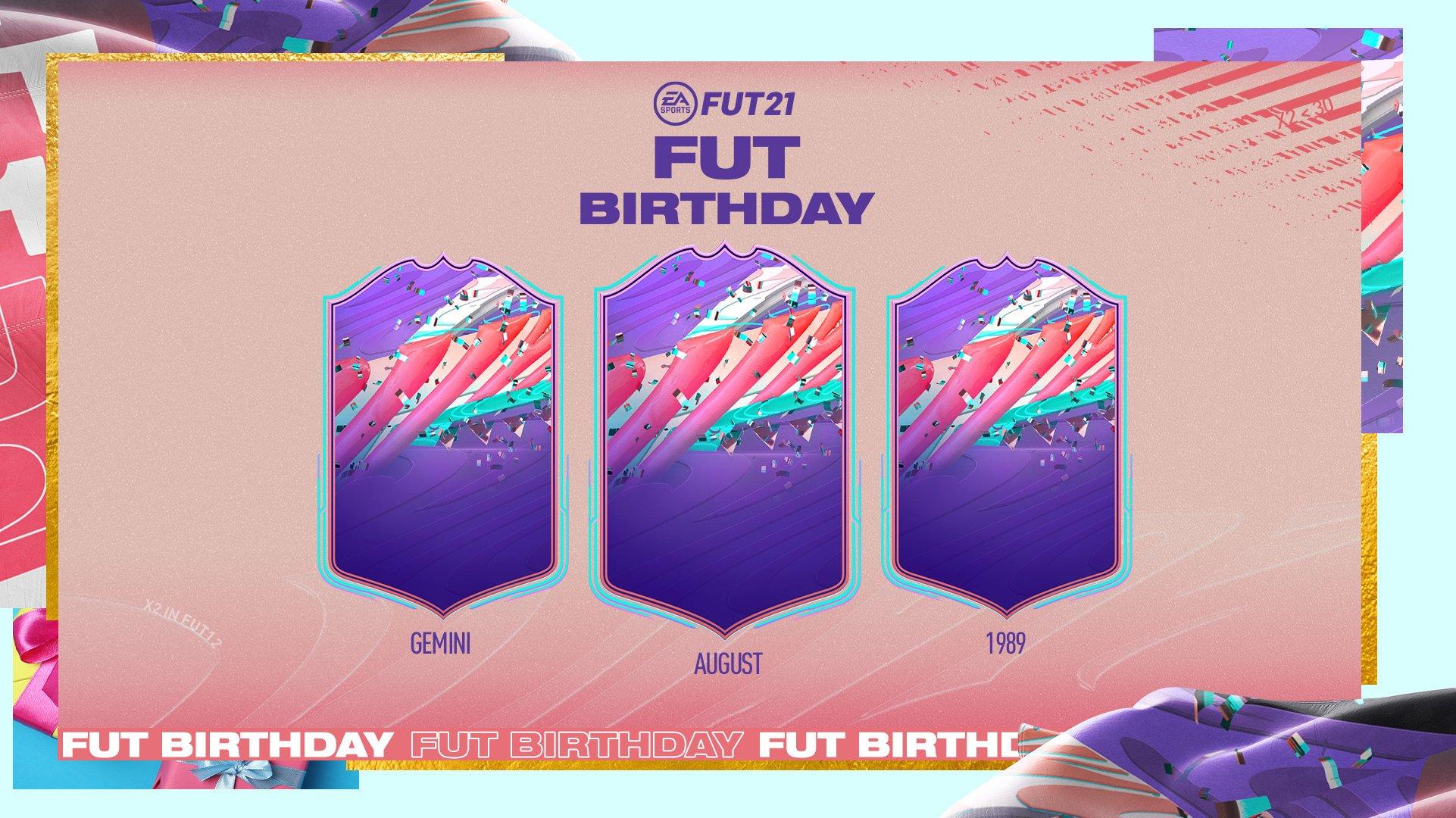 FUT Birthday sur FUT 21