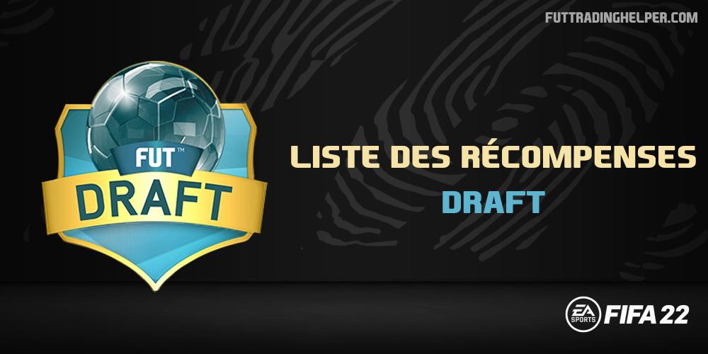 Les récompenses en Draft sur FIFA 22
