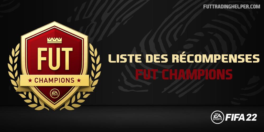 Les récompenses FUT Champions sur FIFA 22